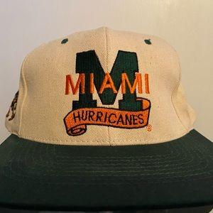 Vintage Miami Hurricanes SnapBack
